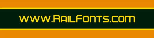 www.RailFonts.com Header